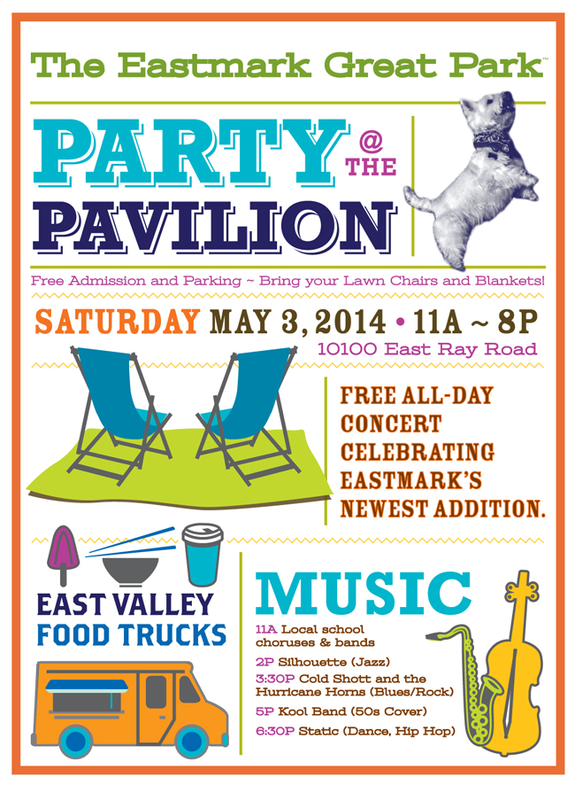 Party at the Pavilion @ The Eastmark Great Park Pavilion