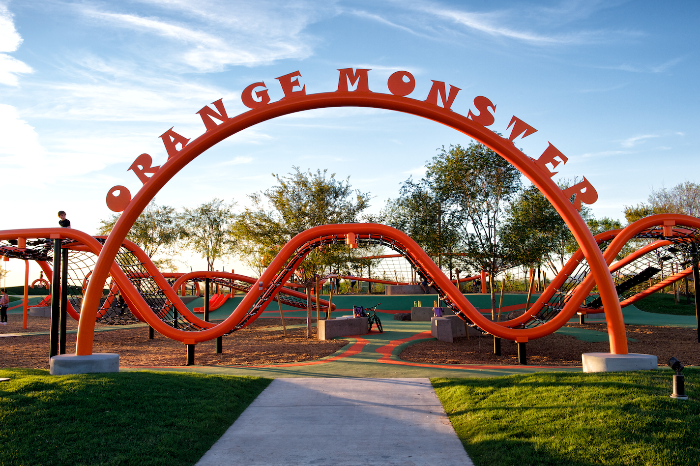 East Orange Focus >> Orange Monster opens to the public at The Eastmark Great Park