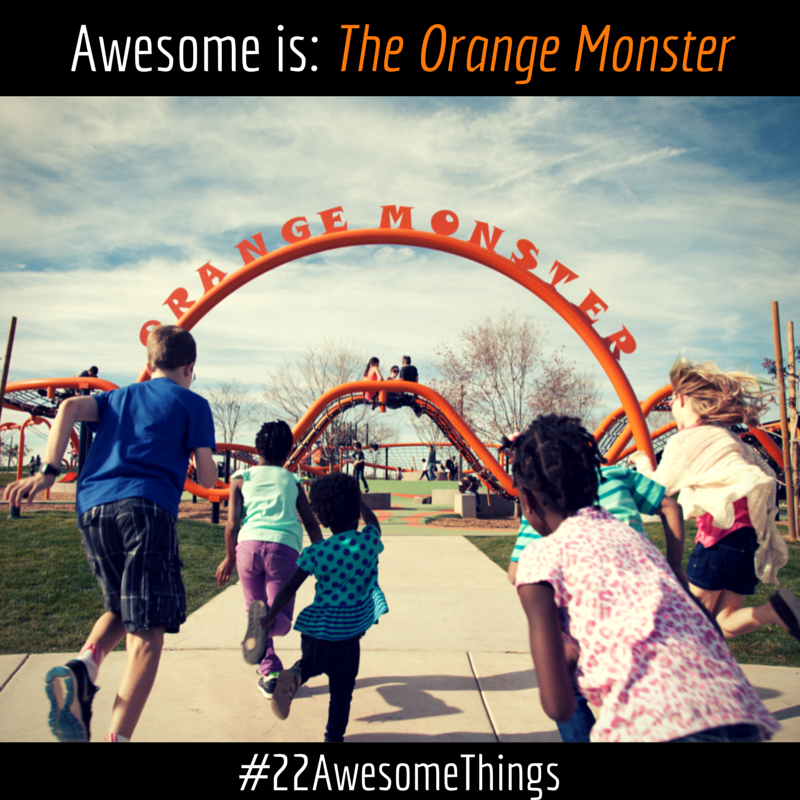 22 Awesome Things- Orange Monster
