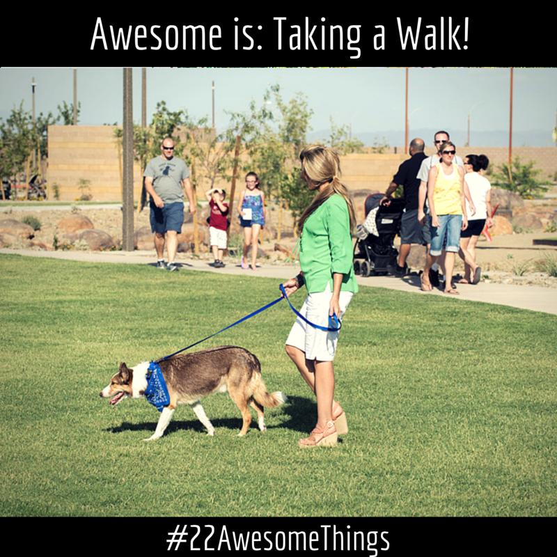 22 Awesome Things - take a walk