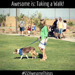 22 Awesome Things #12: Take a walk. Even better – take a walk with a friend.