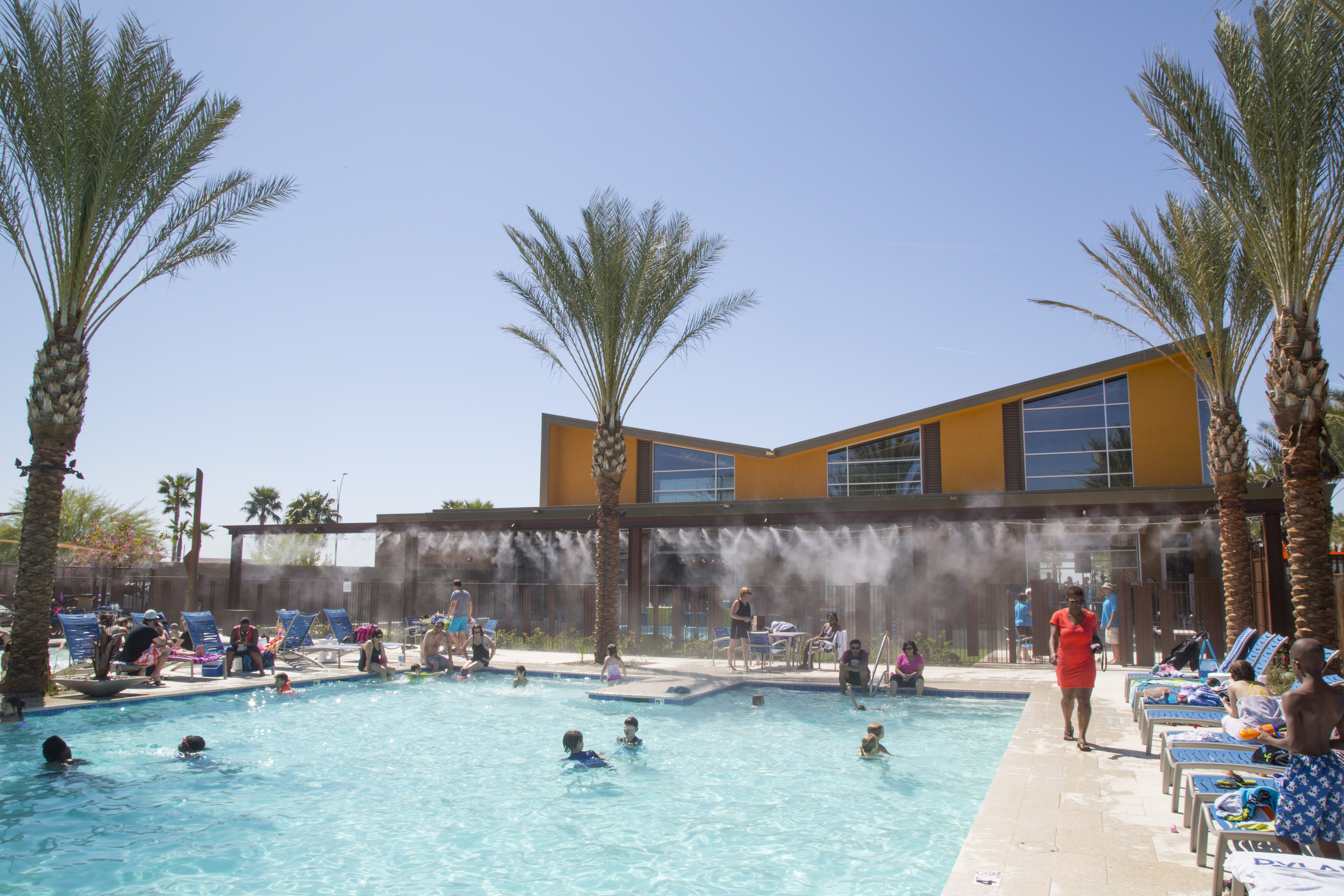 Community pool makes a big splash eastmark for Pool fill in mesa az