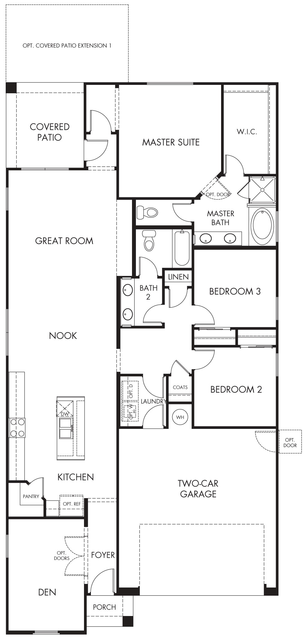 Bacall – 1780 Floorplan