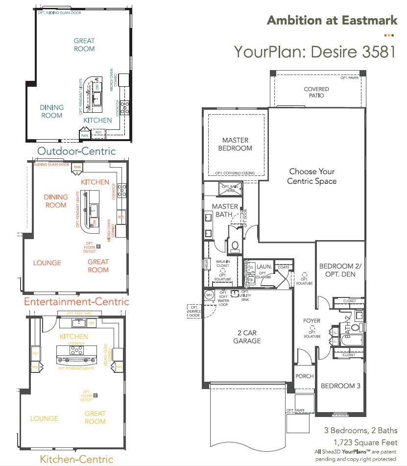 Desire – 3581 Floorplan