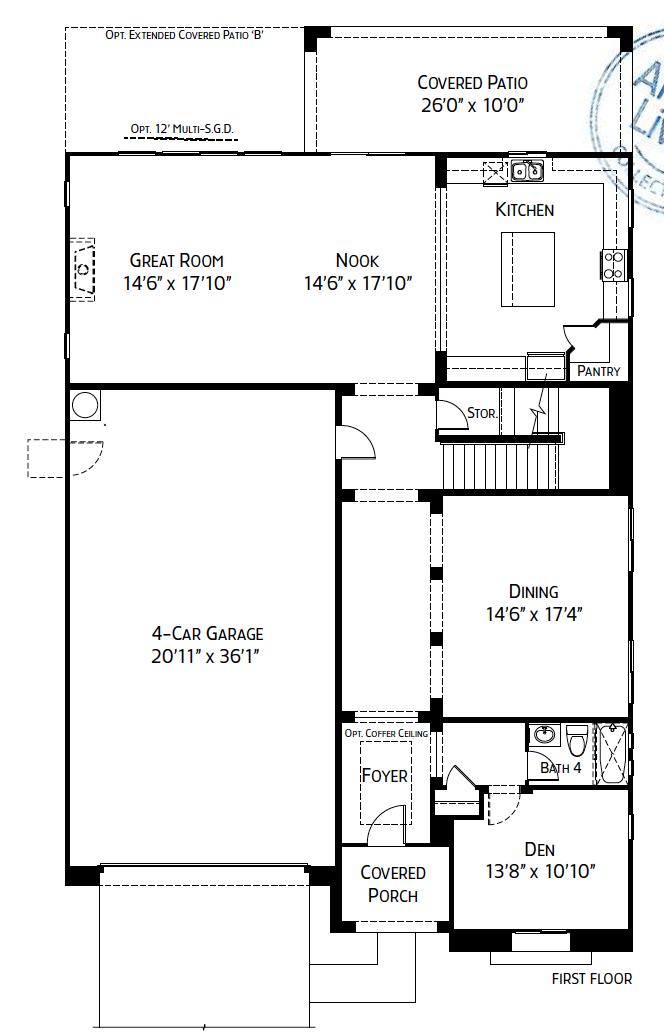 Thatcher – 4562 Floorplan
