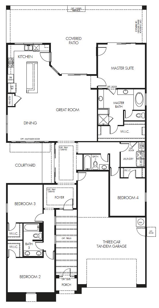 Sierra Plus – 2411 Floorplan