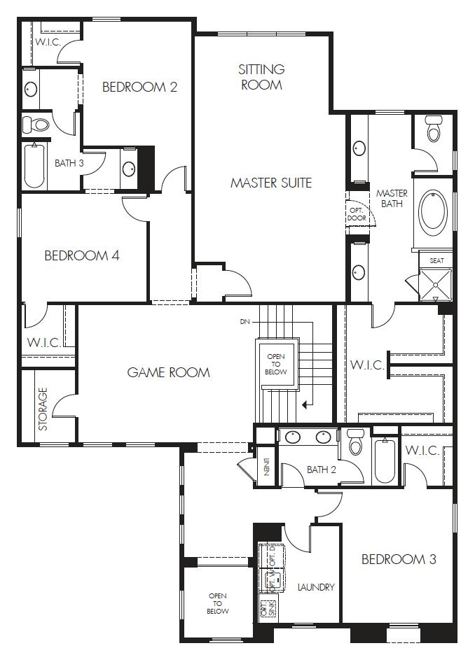 Thunder Basin Plus – 4081 Floorplan