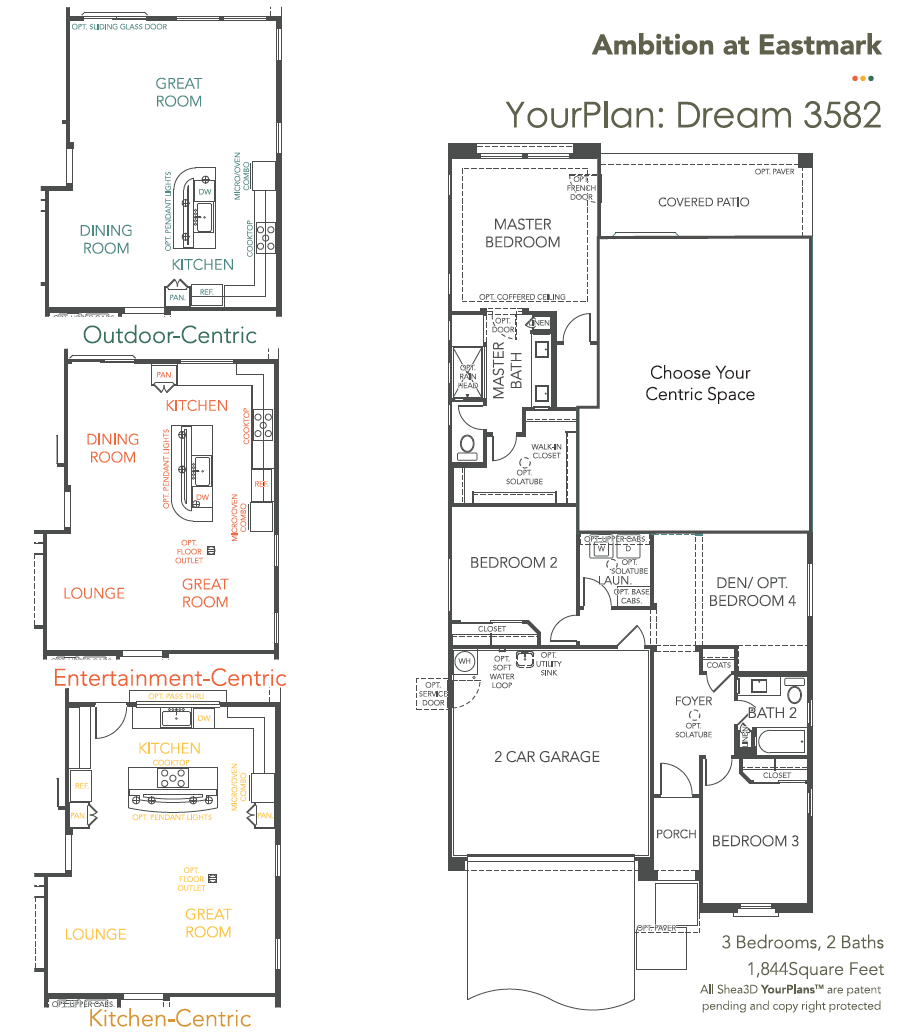Dream – 3582 Floorplan