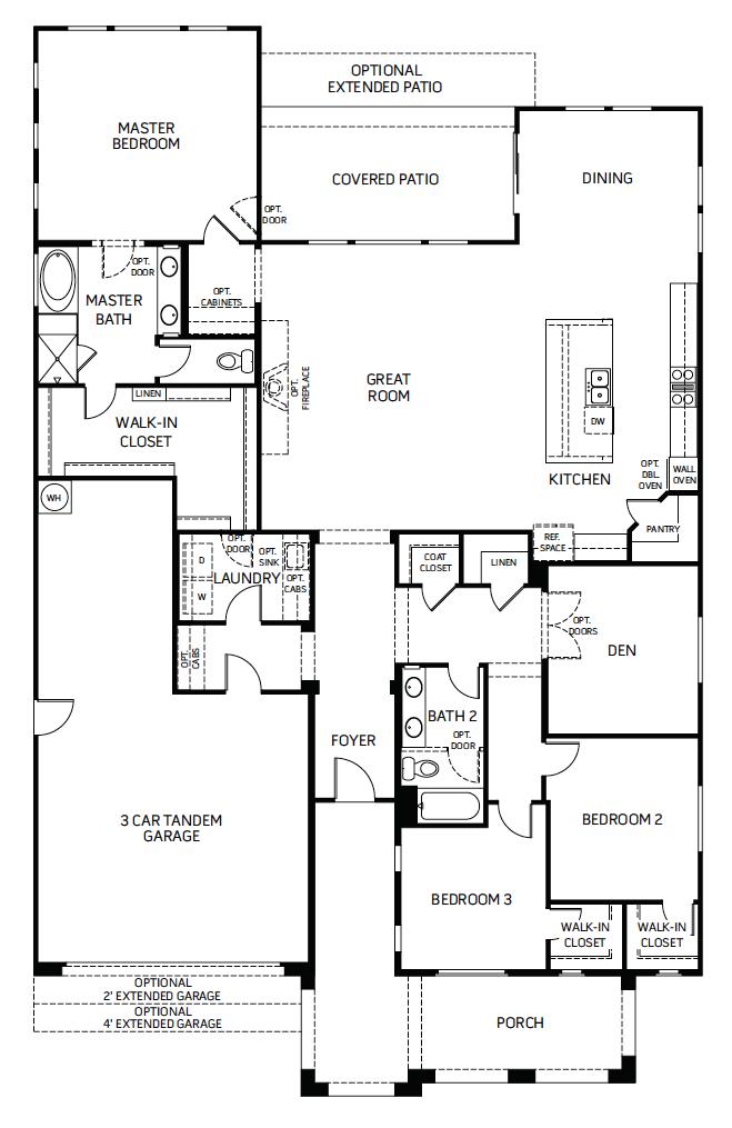 Desire – 5000 Floorplan