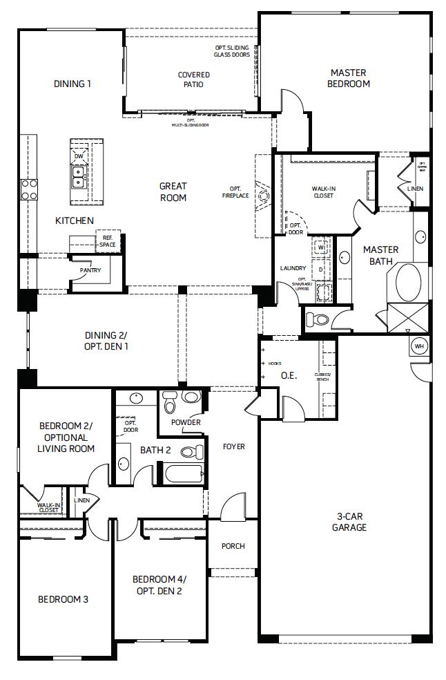 Heritage – 5001 Floorplan