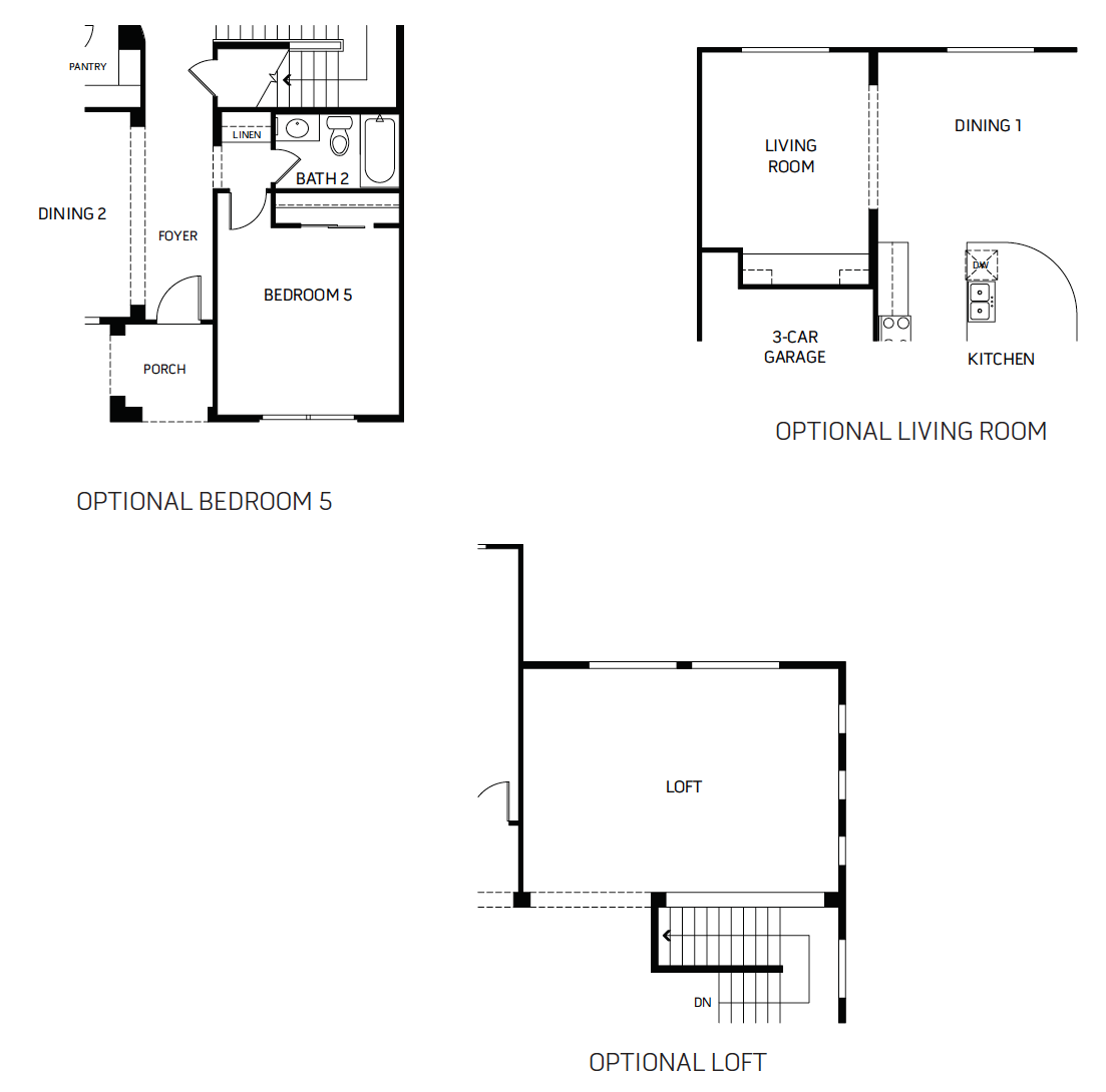 Legend – 5002 Floorplan