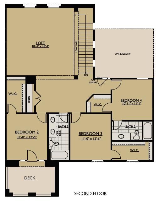 Juniper Floor Plan Part - 16: Juniper Floorplan