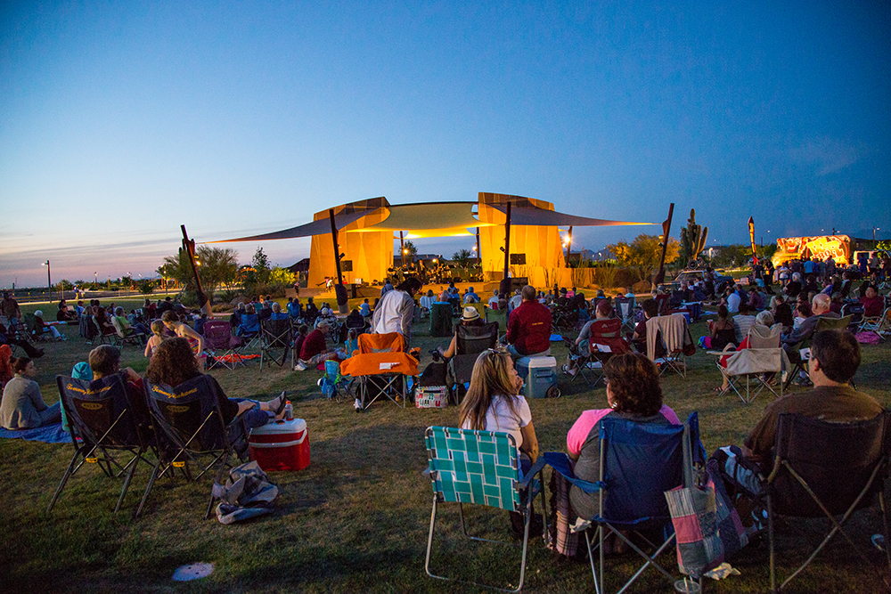 It's back—fall concert series returns