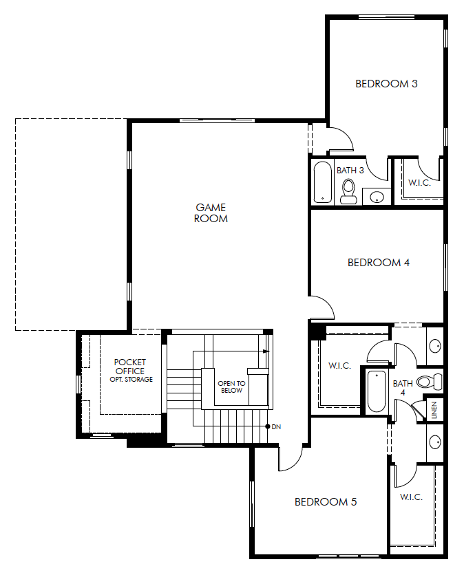 Frankfort – 4383 Floorplan