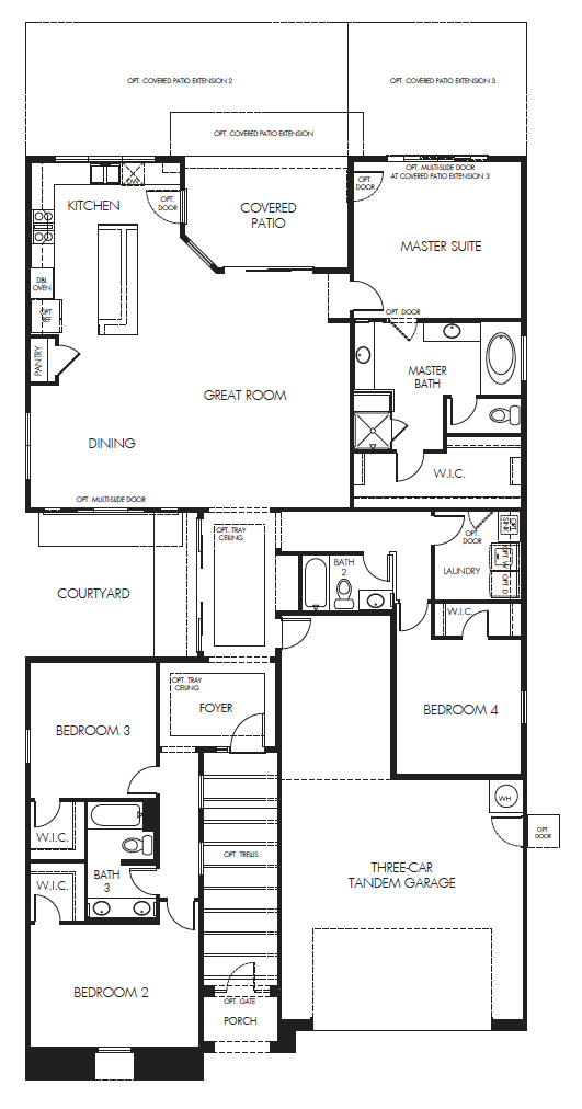 Sierra – 2410 Floorplan