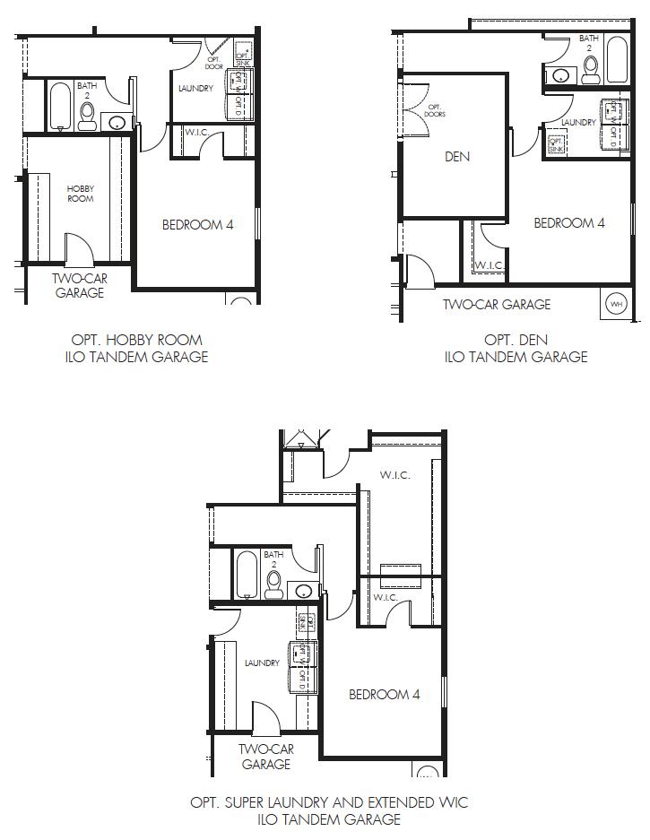 Sierra – 2410 Floorplan