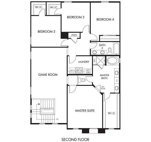 Hitchcock – 2760 Floorplan