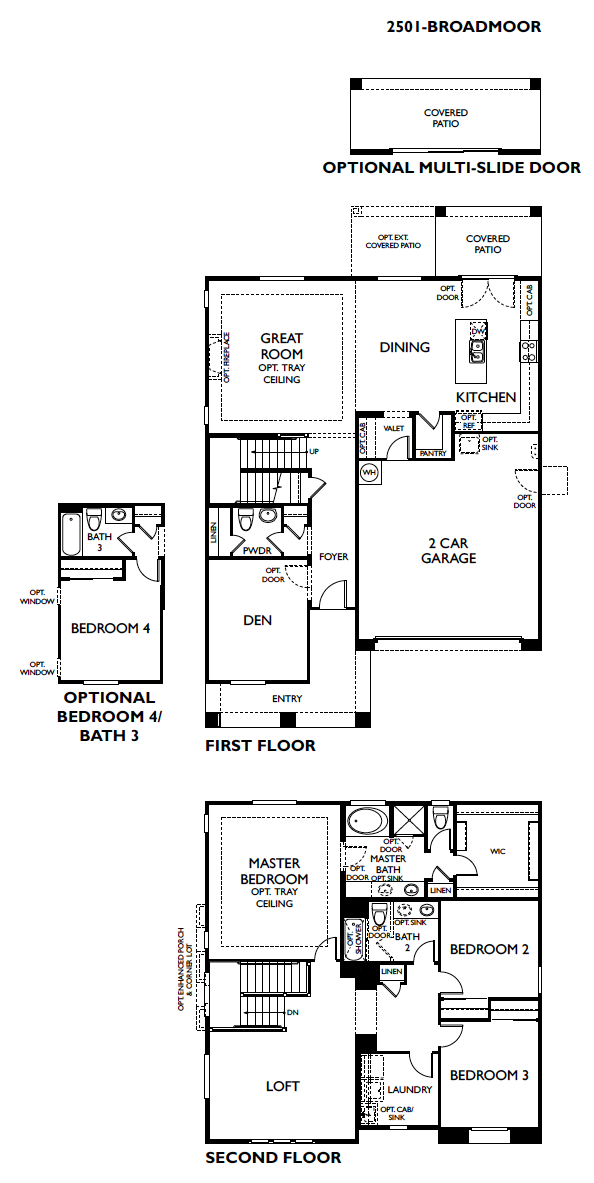 Broadmoor – 2501 Floorplan