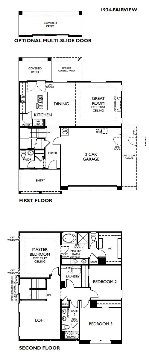 Fairview – 1934 Floorplan