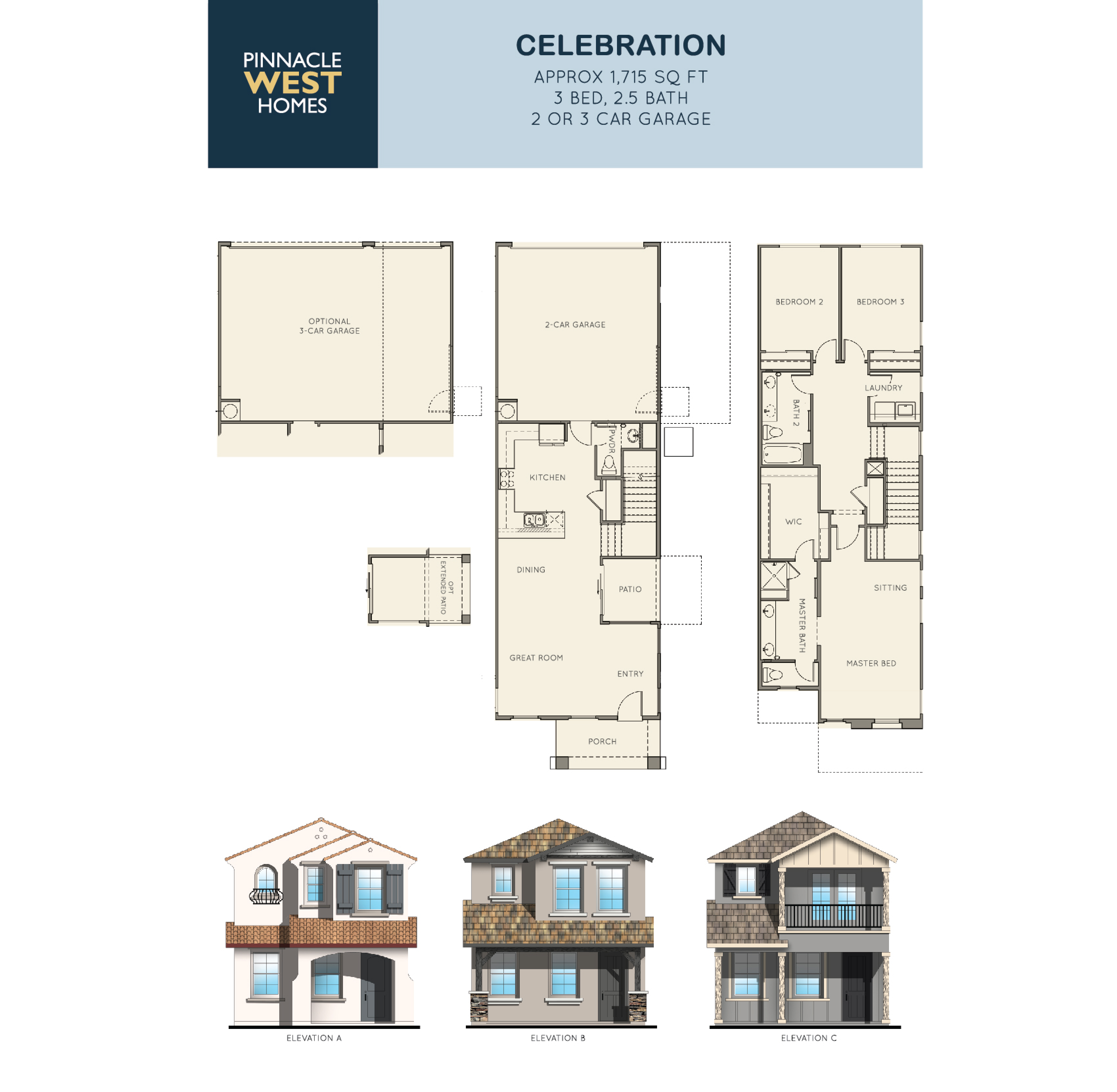 Celebration Floorplan