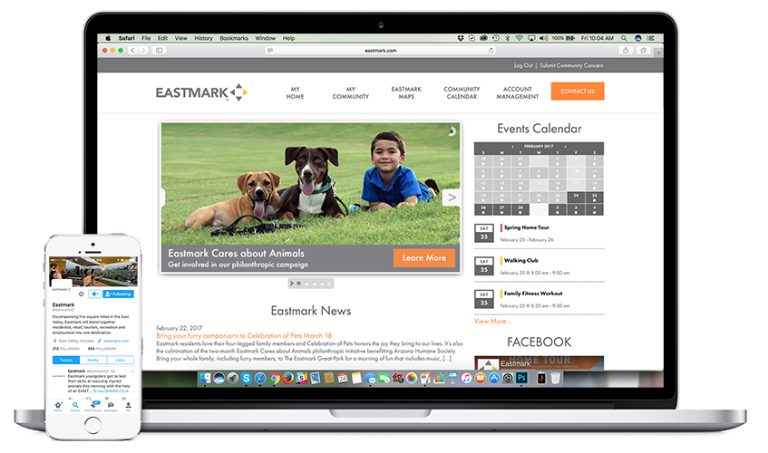 Stay connected at Eastmark