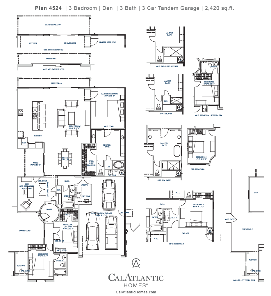 Anitole – Plan 4524 Floorplan