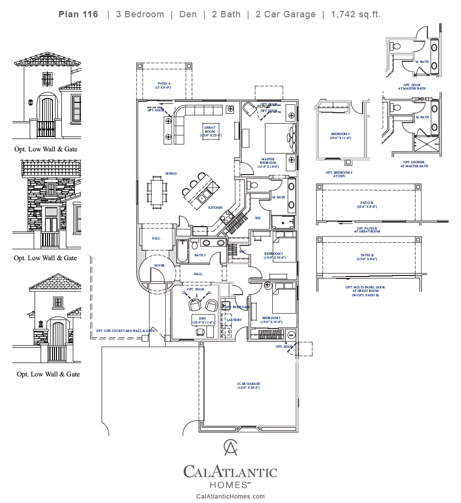 Corbin – Plan 116 Floorplan