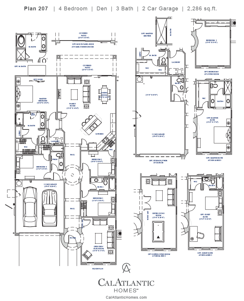 Corbin – Plan 207 Floorplan
