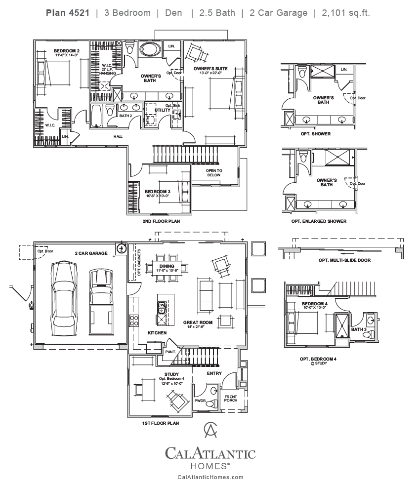 Santa Clara – Plan 4521 Floorplan