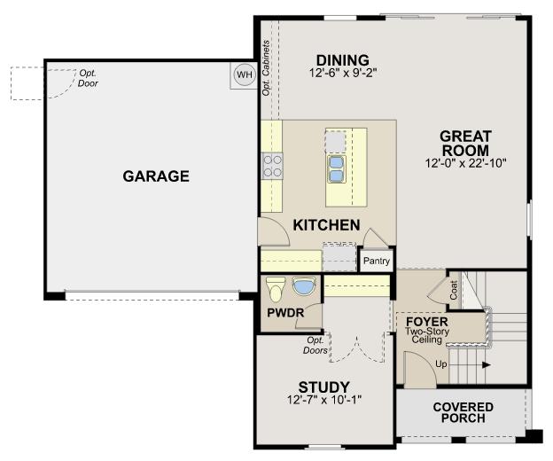 Montecito – Plan 4522 Floorplan