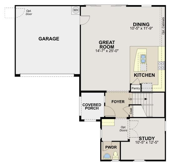 Santa Barbara – Plan 4527 Floorplan