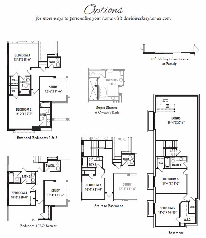 Enjoyment – 7165 Floorplan