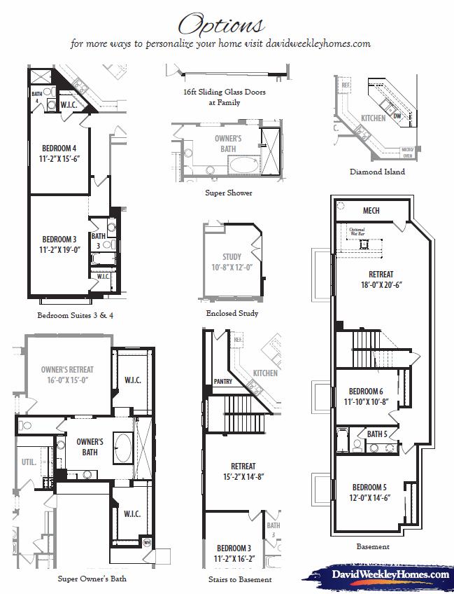 Opulence – 7166 Floorplan