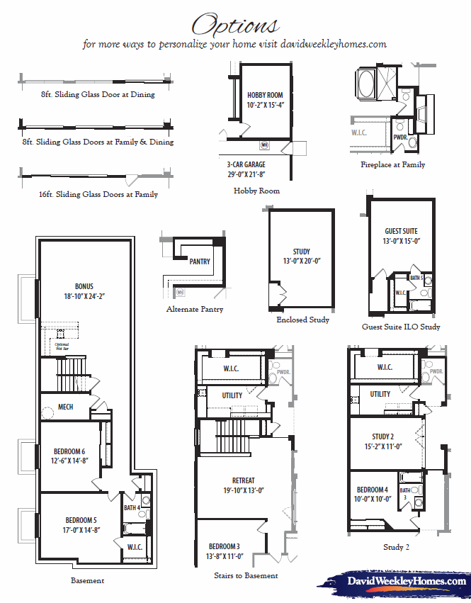 Tranquility – 7167 Floorplan