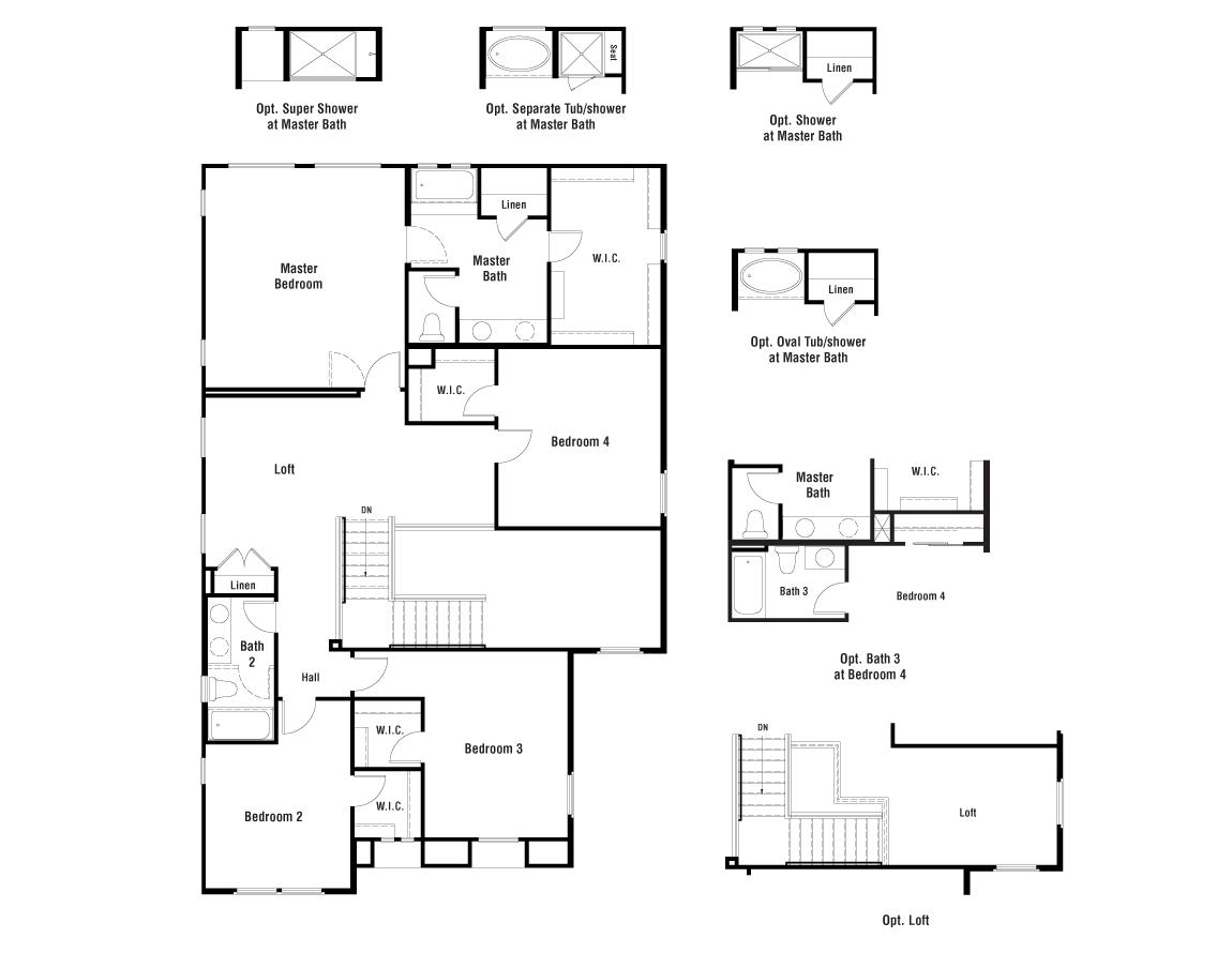 Clover Floorplan