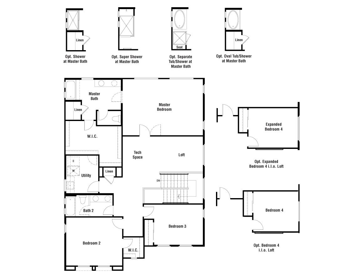 Indigo Floorplan