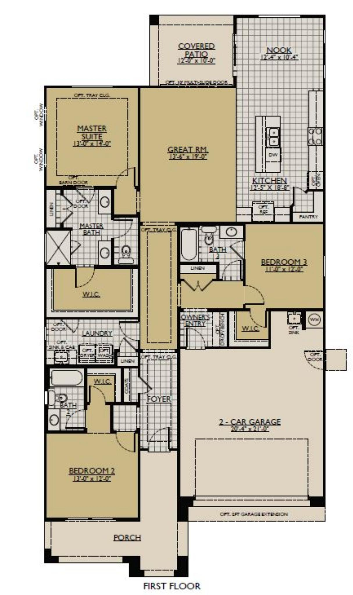 The Jasmine Floorplan