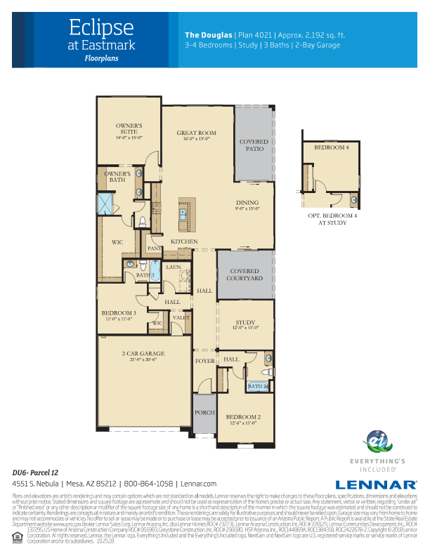 Douglas Floorplan