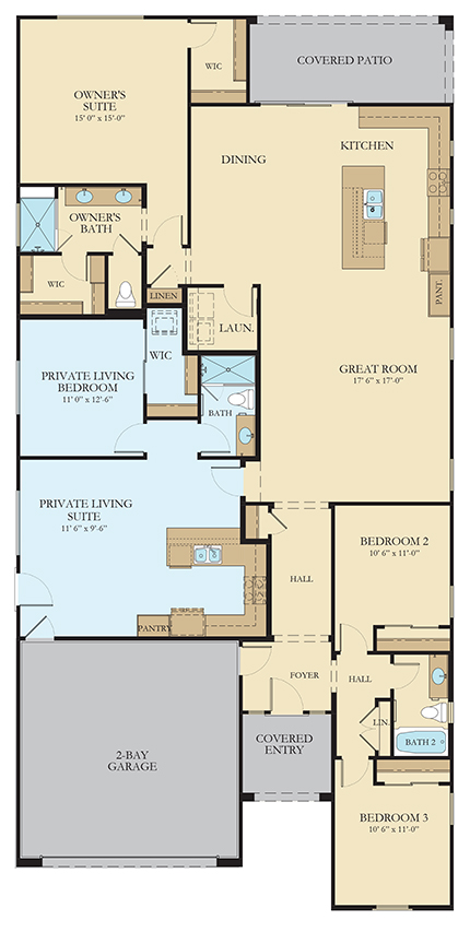 Joshua | Plan 4082 | Next Gen® Floorplan