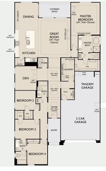 Garnet Floorplan