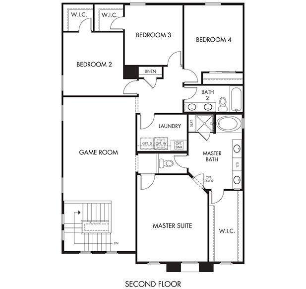 Hitchcock Plus – 2761 Floorplan