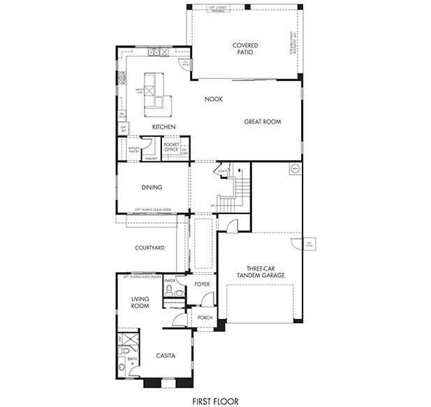 Thunder Basin Select – 4082 Floorplan