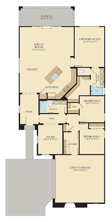 Mesquite Floorplan