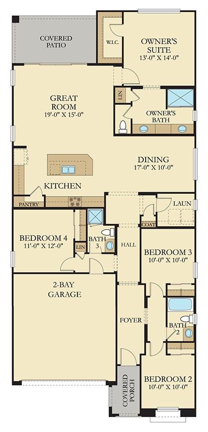 Ironwood Floorplan