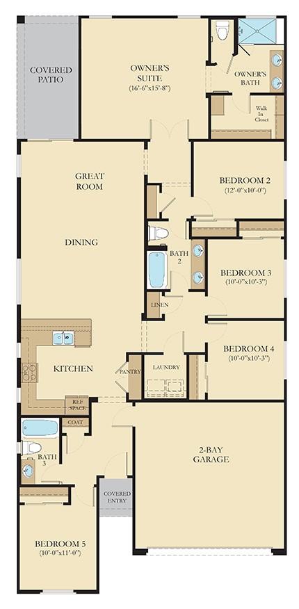 Lewis Floorplan