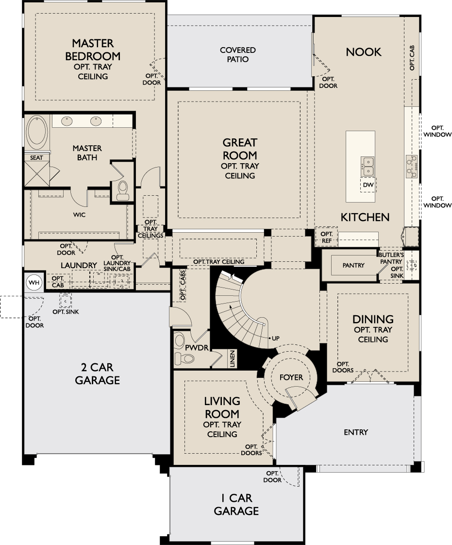 Yellowood Floorplan