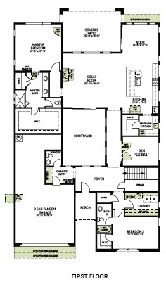Poise Floorplan