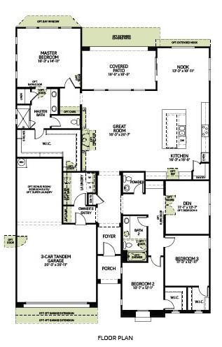 Zen Floorplan