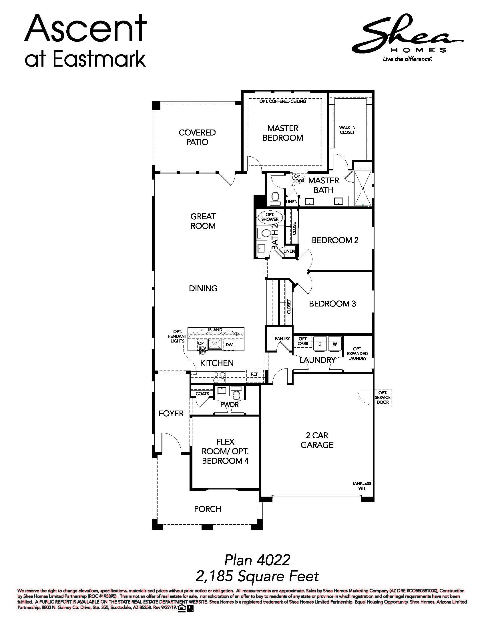 Plan 4022 Floorplan