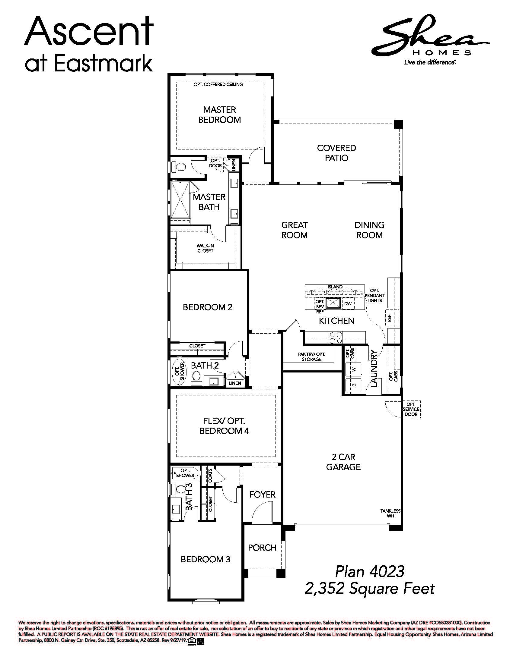 Plan 4023 Floorplan
